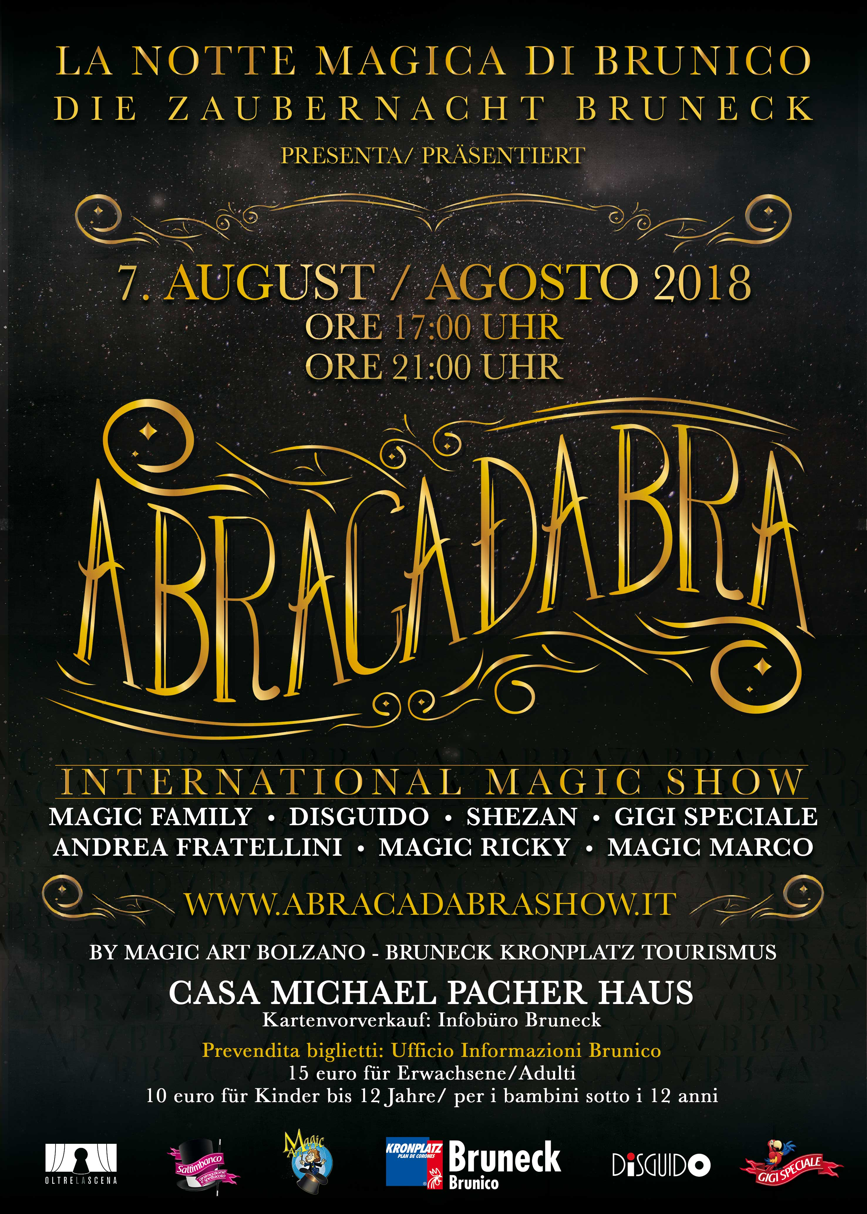 Abracadabra Brunico - abracadabra show
