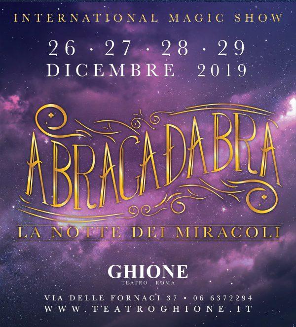 Locandine Abracadabra 2019 Chiavari_tag